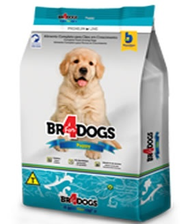 BR4DOGS PUPPY 15KG