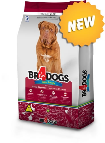 BR4DOGS GIANT FRANGO ADULTO 15KG