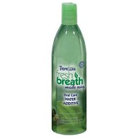 TROPICLEAN FRESH BREATH ORAL CARE WATER ADDITIVE 473ML - Validade fevereito/2018