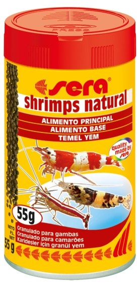 SERA SHRIMPS NATURAL 55G