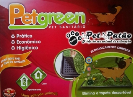 PET GREEN SANITARIO CANINO -  FURACAO PET - 58X45CM - UN