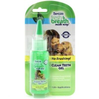 TROPICLEAN FRESH BREATH CLEAN TEETH GEL (GEL REMOVEDOR DE TÁRTARO) 59ml