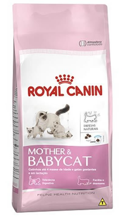 ROYAL FELINE MOTHER BABY CAT 34 - 7,5kg - GATA PRENHA E FILHOTES