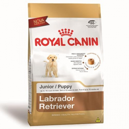 ROYAL RAÇAS LABRADOR RETRIEVER JUNIOR 12KG