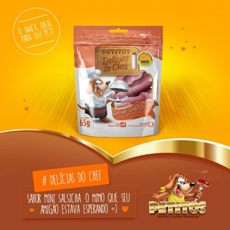 PETITOS DELICIAS DO CHEF MINI SALSICHAS
