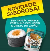 PETITOS DELICIAS DO CHEF SUSHI 65G - PETISCO PARA CÃES - UN