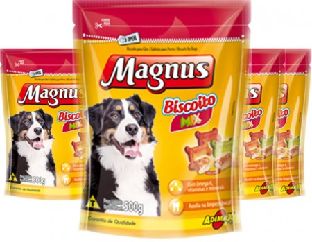 MAGNUS BISCOITO MIX 10 x 500G  - DISPLAY
