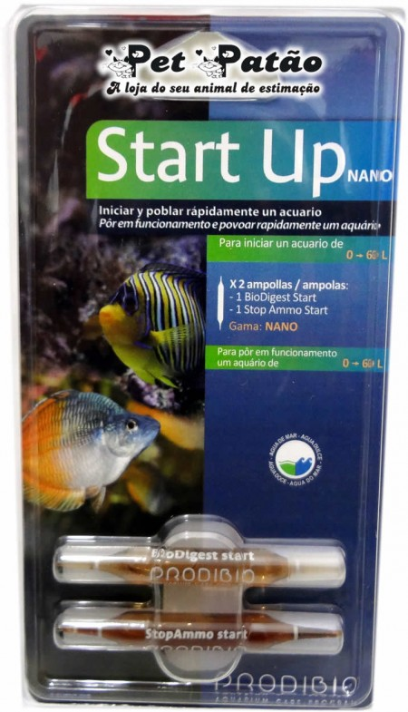 PRODIBIO START UP NANO 2 AMPOLAS ( ACELERADOR BIOLOGICO ) - UN