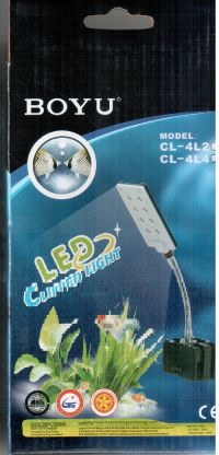 BOYU LUMINARIA LED CL-4L4 28LEDS  BIVOLT - UN