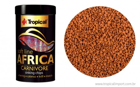 SOFT LINE AFRICA CARNIVORE 130G - TROPICAL