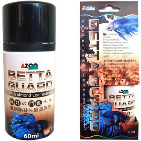 AZOO BETTAGUARD CONDICIONADOR PARA AQUARIOS 60ML - UN