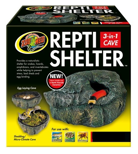 ZOOMED CAVERNA 3 EM 1 REPTI SHELTER RC-31 MD - UN