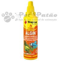TROPICAL ALGIN 50ML (  ALGICIDA PARA AQUARIOS  ) - VAL 10/2019