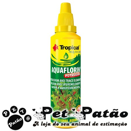 TROPICAL AQUAFLORIN POTASSIUM 100ML FERTILIZANTE LIQUIDO P/  PLANTAS AQUATICAS  - VAL 06-2019