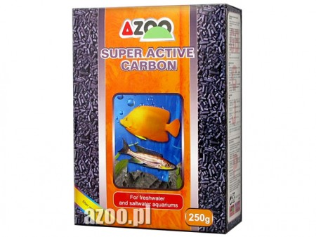 AZOO SUPER ACTIVE CARBON 250G ( CARVÃO ATIVADO ) - UN