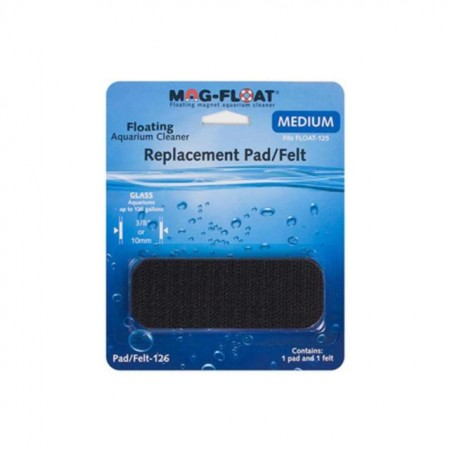 MAGFLOAT REFIL PAD/FELT FLOAT-125 ( REFIL FELTRO E VELCRO DO MAGFLOAT MEDIUM ) 10MM - UN