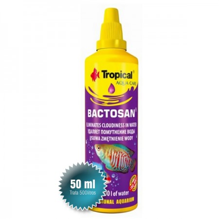 TROPICAL BACTOSAN 50ML - CLARIFICANTE BIOLOGICO - VAL 10/2019