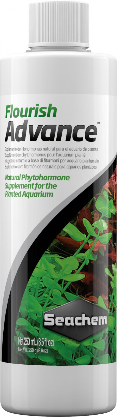 SEACHEM FLOURISH ADVANCE 250ML -  FERTILIZANTE AVANÇADO PARA AQUARIOS PLANTADOS