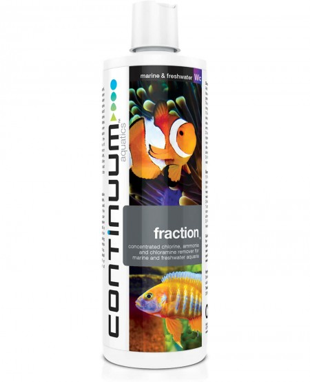 CONTINUUM FRACTION CHLORAMINE 500ML - CONTINUUM AQUATICS