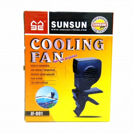 COOLER VENTOINHA P/ AQUARIO SUNSUN SUPER VENTILADOR JF-001 - 220V 150MM