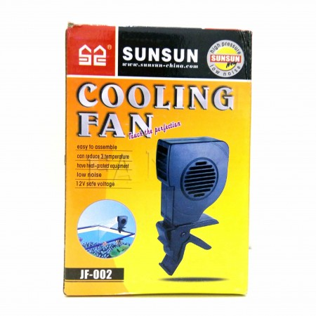 COOLER VENTOINHA P/ AQUARIO SUNSUN SUPER VENTILADOR JF-002 - 220V 150MM