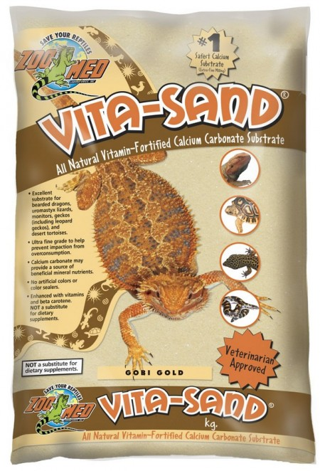 ZOOMED SUBSTRATO VITA SAND GOBY GOLD 2,25KG - UN