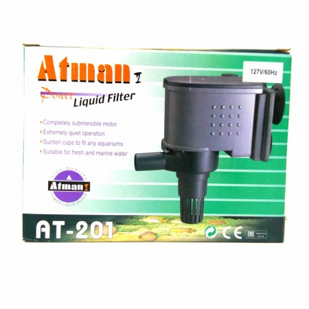 ATMAN AT-201 800L/H 127V BOMBA SUBMERSA P/ AQUARIOS - UN