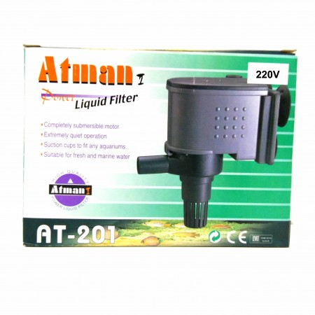 ATMAN AT-201 800L/H 220V BOMBA SUBMERSA P/ AQUARIOS - UN