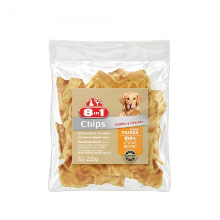 8IN1 - OSSO CHIPS FRANGO 220G