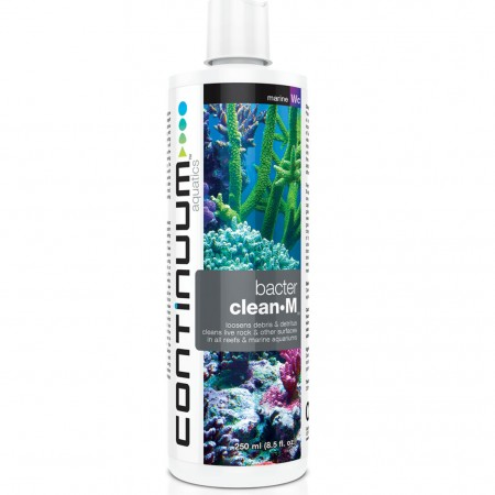 CONTINUUM BACTER CLEAN M 500ML - CONTINUUM AQUATICS