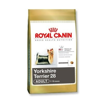 ROYAL RAÇAS YORKSHIRE TERRIER ADULT 28 3KG