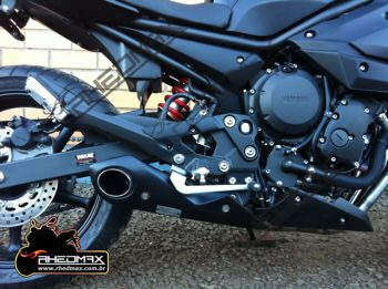 Escapamento FireTong Willy Made para Yamaha XJ6 4x1 Full