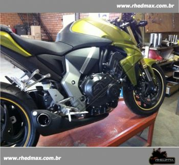 Escapamento FireTong Willy Made para Honda CB1000R