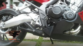 Escapamento FireTong Willy Made para Honda CB650F e CBR650F Full 4x2x1