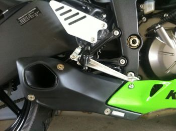 Ponteira FireTong Willy Made para Kawasaki Ninja 636 2009 a 2016