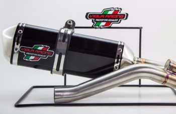 Escapamento Viola Racing MS1 para Honda CBX250 Twister