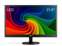 Monitor AOC LED 21,5´  Full HD 1920X1080 E2270SWN Full HD Widescreen VGA Vesa