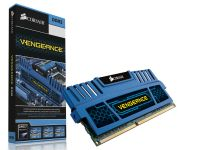 Memória Corsair Vengeance Blue 8GB 1600MHz DDR3 PC12800 CMZ8GX3M1A1600C10B