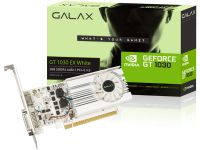 Placa De Video Galx Geforce GT 1030 Exoc White 2GB DDR4