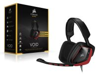 Headset Gamer Corsair Void 7.1 Red Dolby