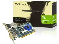 Placa De Vídeo Galax Geforce Gt 710 1gb Ddr3 64 Bit