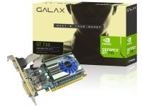 Placa De Vídeo Galax Geforce Gt 710 2gb Ddr3 64 Bit