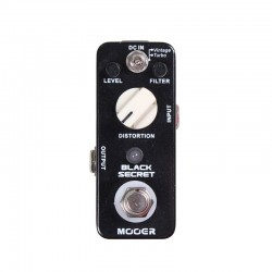 Pedal MOOER Black Secret Distortion  - foto principal 1