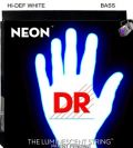 Encordoamento DR Neon White Bass 045 ( 5 cordas )