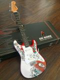 Miniature Guitar Collection Jimi Hendrix Monterrey Fender Strat