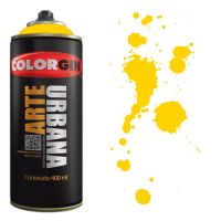 Spray Colorgin Arte Urbana 400ml - 915 Amarelo Sol