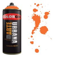 Spray Colorgin Arte Urbana 400ml - 900 Laranja