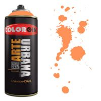 Spray Colorgin Arte Urbana 400ml - 901 Laranja Holanda