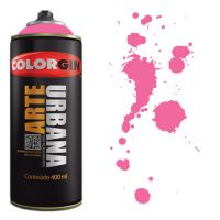 Spray Colorgin Arte Urbana 400ml - 917 Rosa Lírio