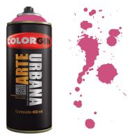 Spray Colorgin Arte Urbana 400ml - 918 Magenta